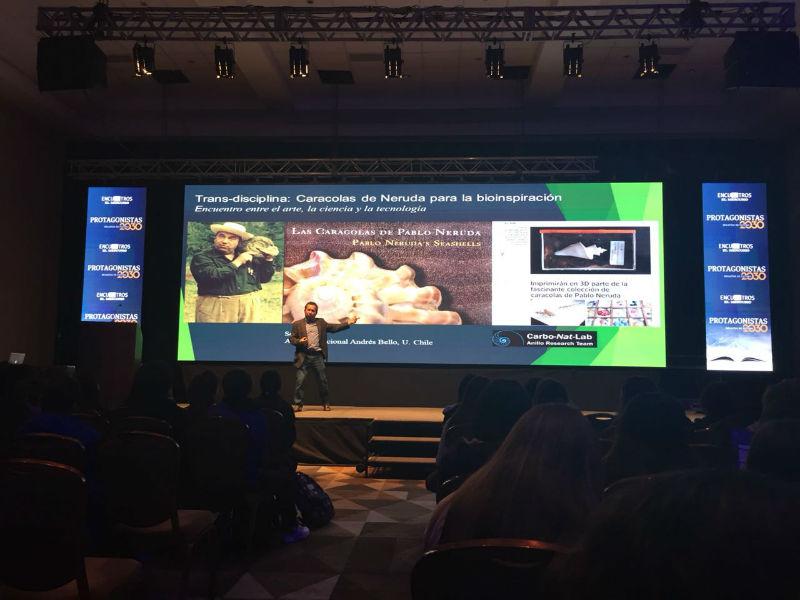 Académico Nelson Lagos explicó la importancia de la bioinspiración para generar iniciativas sustentables