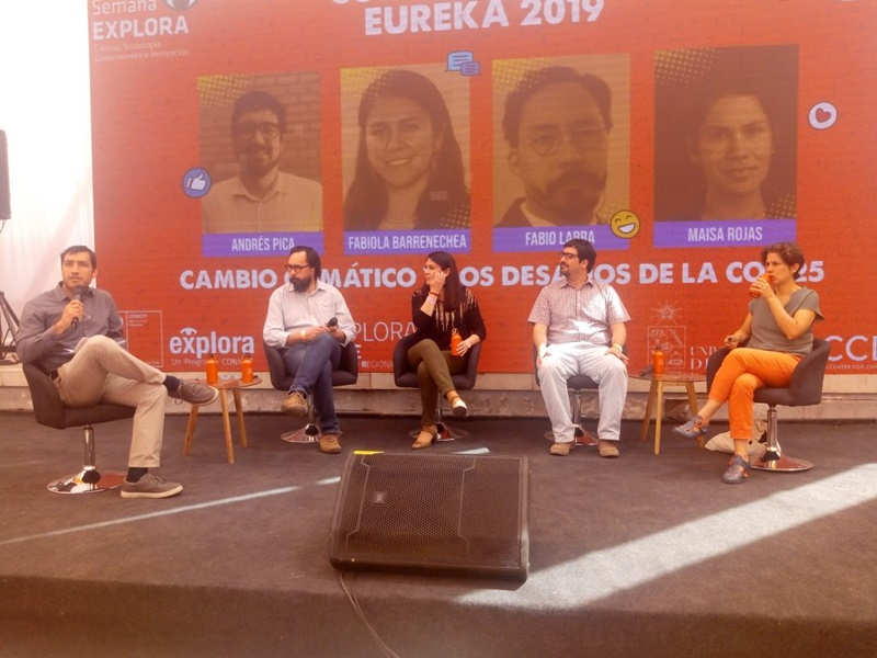 """Fabio Labra, investigador del Centro CIICC UST, dicta charla sobre el cambio climático en Festival Científico """"Eureka"""""""