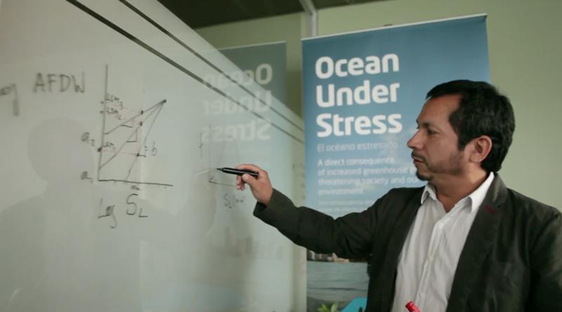 Nelson Lagos expone sobre acidificación de los océanos en la Cumbre Social por la Acción Climática