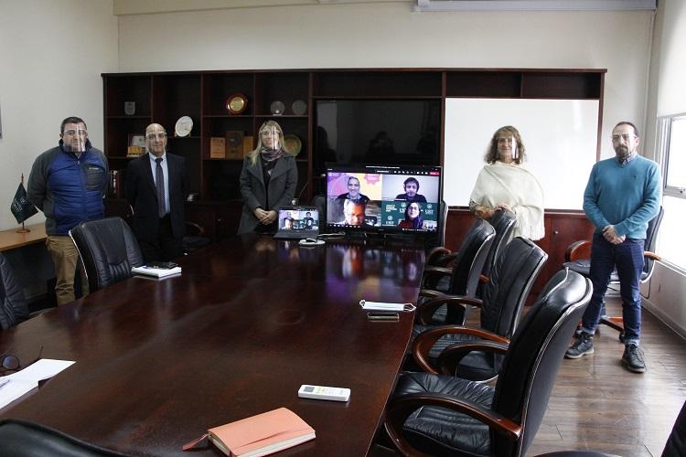 Seremi de Ciencia y Tecnología se reunió con Rector de Santo Tomás Talca